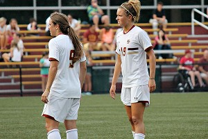 Kristen Mewis, right, nearly made the U.S. team for the London Olympics.