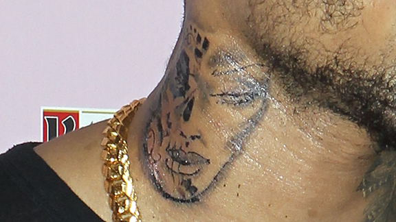Chris Brown's Tattoo