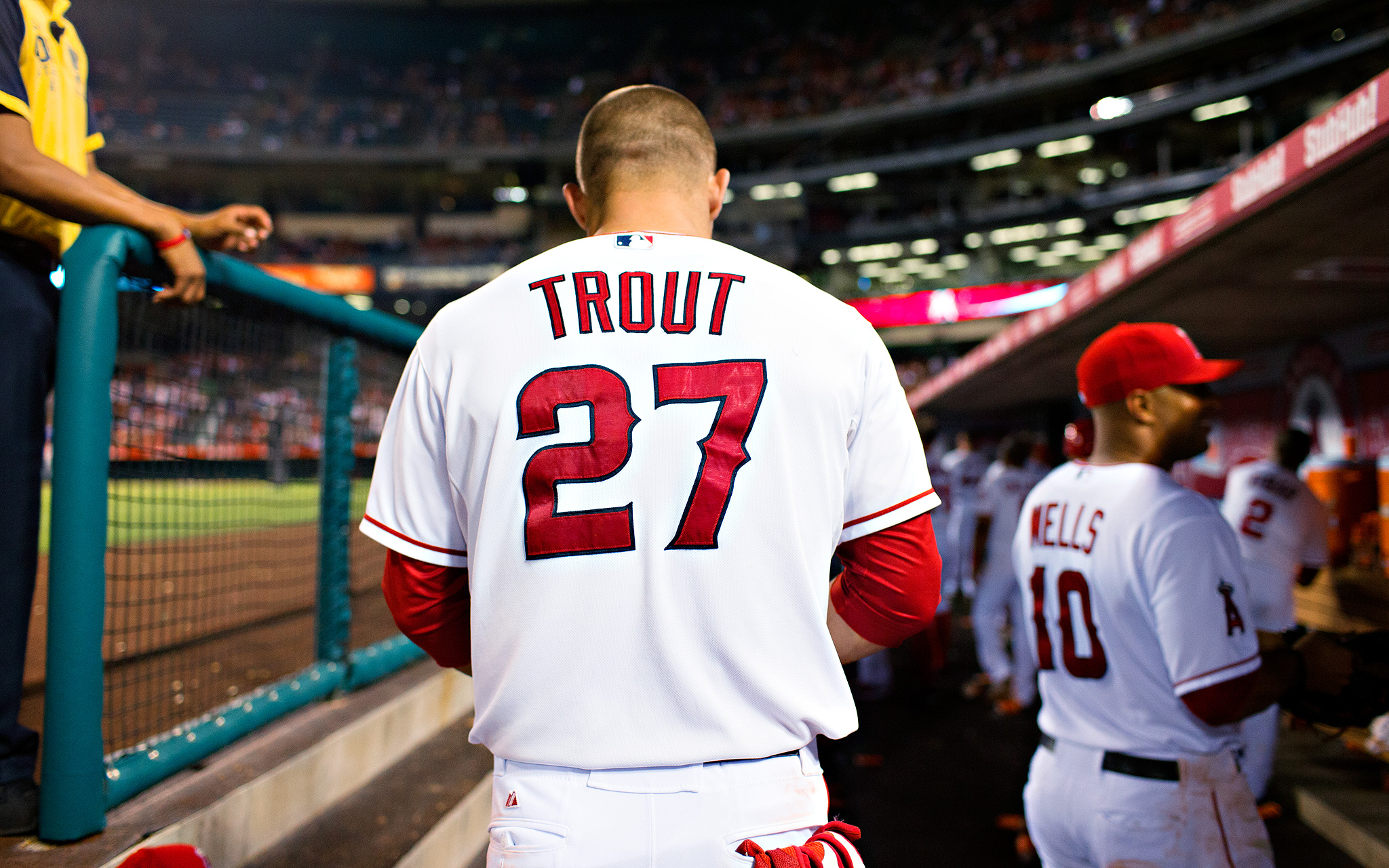 Mike Trout, Age 21