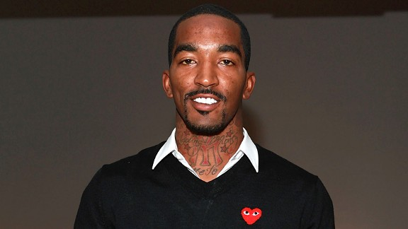 J.R. Smith at Fashion Week