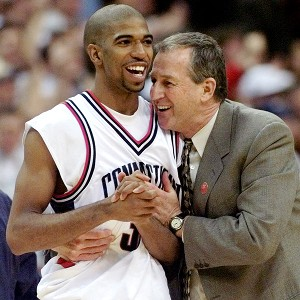 UConn's Richard Hamilton and Jim Calhoun