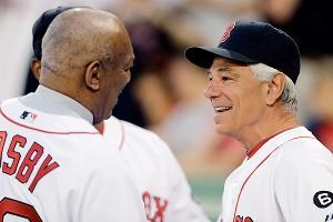 Bobby Valentine and Bill Cosby