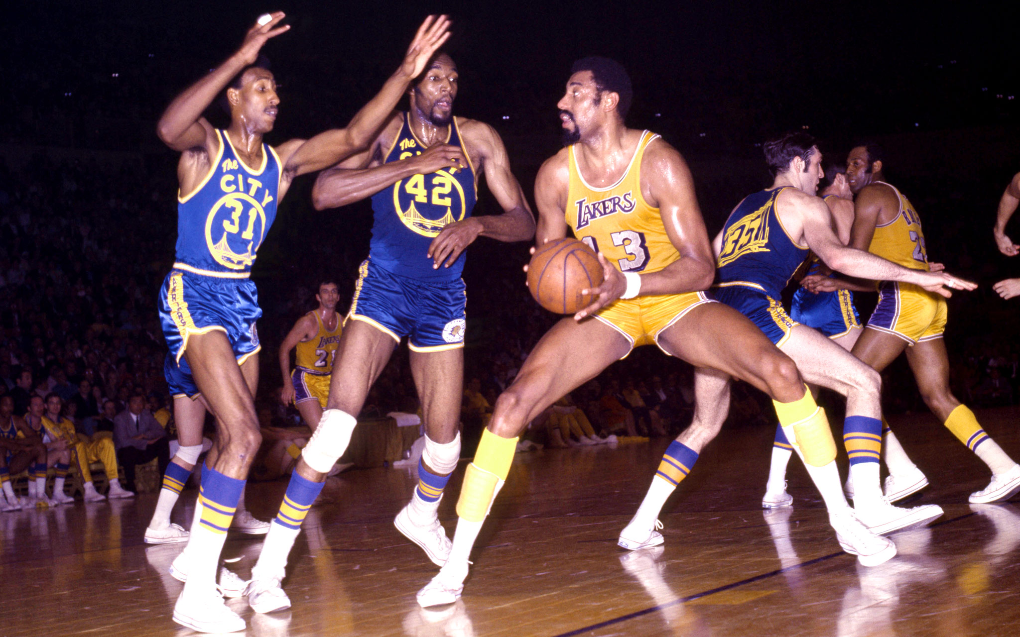 Wilt Chamberlain Lakers Great Big Men ESPN