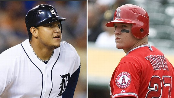 Miguel Cabrera and Mike Trout