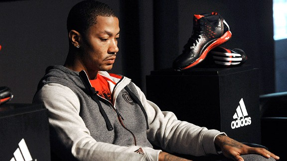 d rose contract with adidas