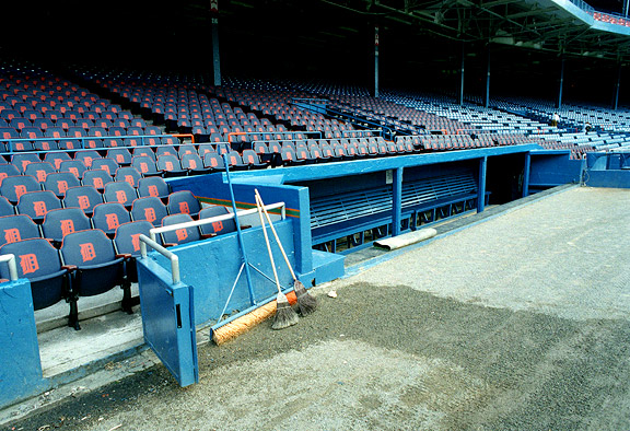 Detroit's Tiger Stadium, circa September 1994
