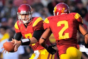 Matt Barkley and Robert Woods