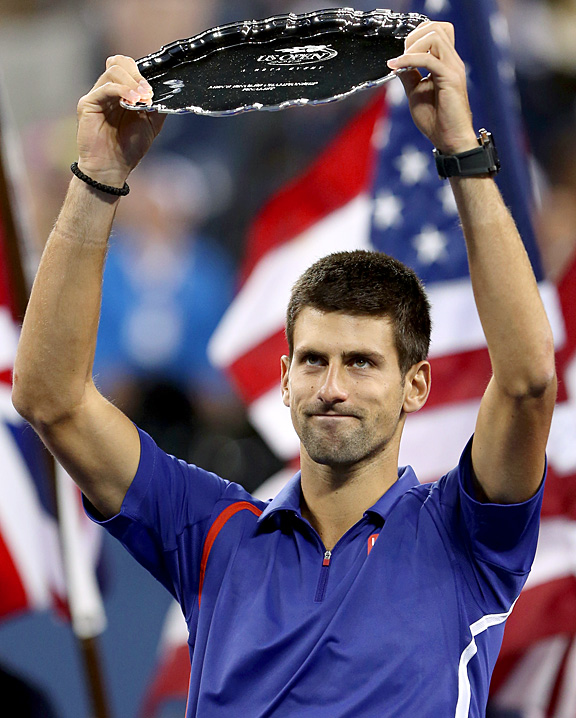 Novak Djokovic after losing to Andy Murray in the U.S. Open