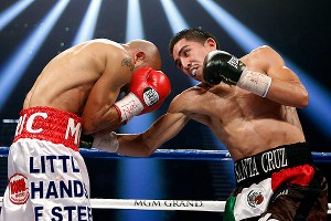 Leo Santa Cruz and Eric Morel