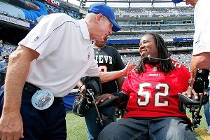 Tom Coughlin and Eric LeGrand