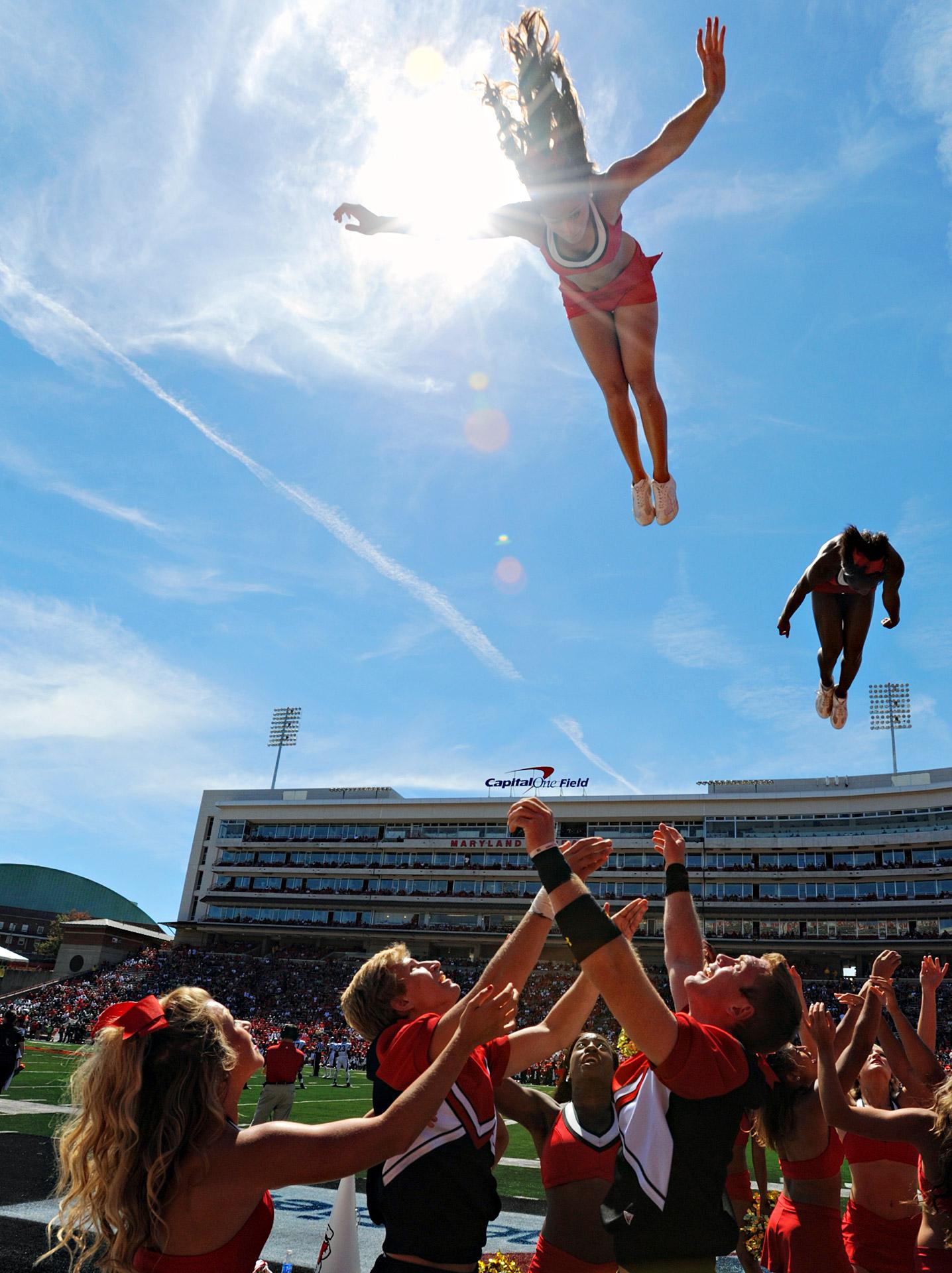 Maryland Cheerleaders