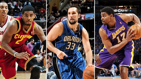 Irving, Anderson, Bynum