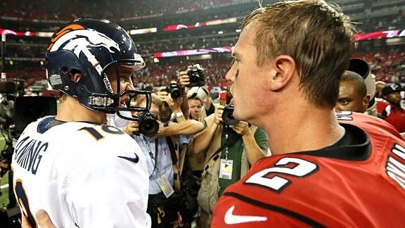Peyton Manning and Matt Ryan