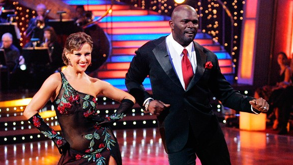 Lawrence Taylor on Dancing with the Stars