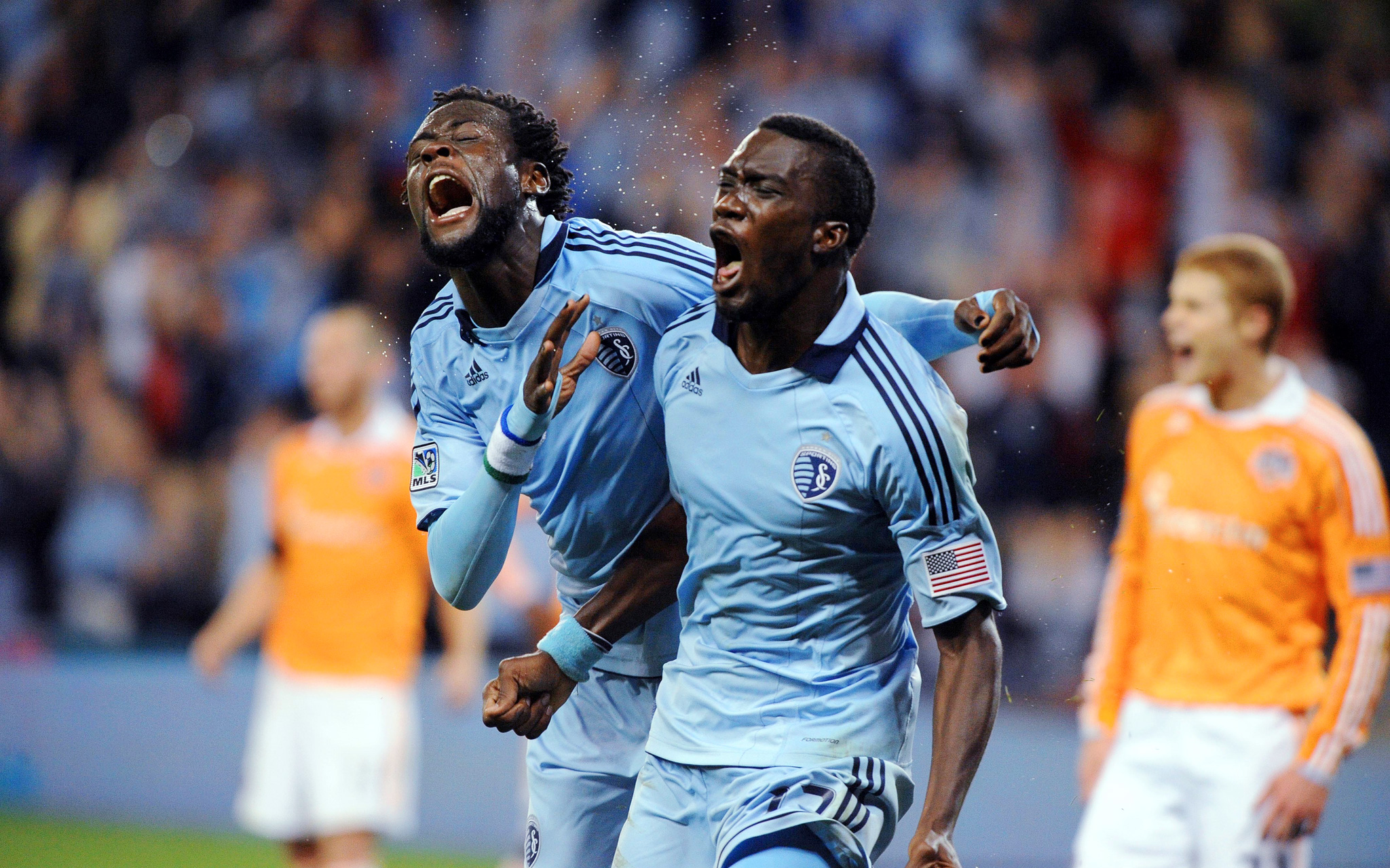 CJ Sapong and Kei Kamara