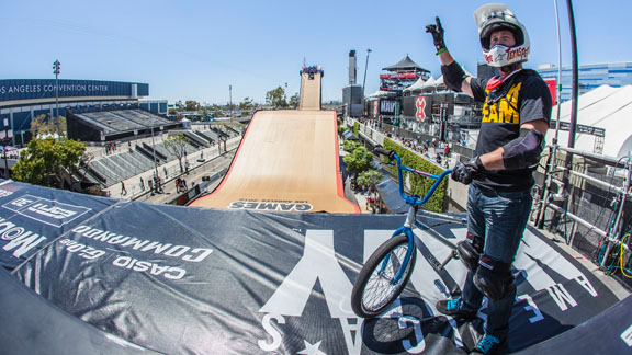 Chad Kagy, seen here at X Games Los Angeles, has been riding in Teva shoes for the past several months. Today, he was officially added to the team.
