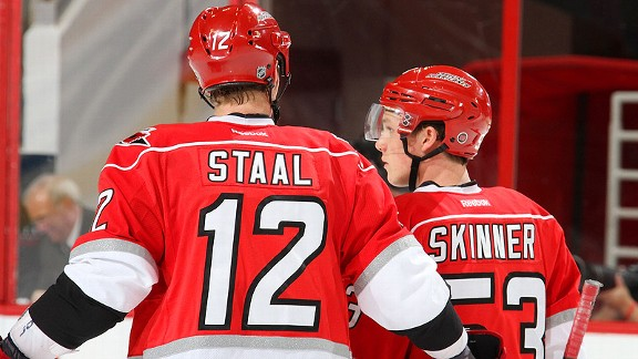 Eric Staal, Jeff Skinner