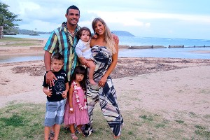 Vitor Belfort and family