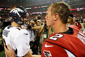 Peyton Manning and Matt Ryan