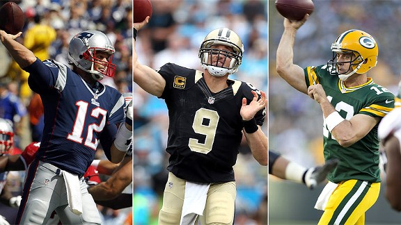 Tom Brady/Drew Brees/Aaron Rodgers