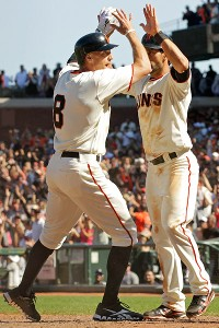 Hunter Pence, Angel Pagan