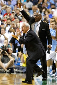 Roy Williams and Steve Robinson