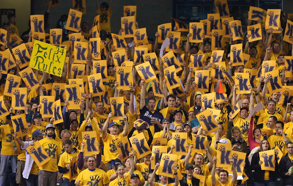 King's Court celebrating Felix Hernandez in Seattle