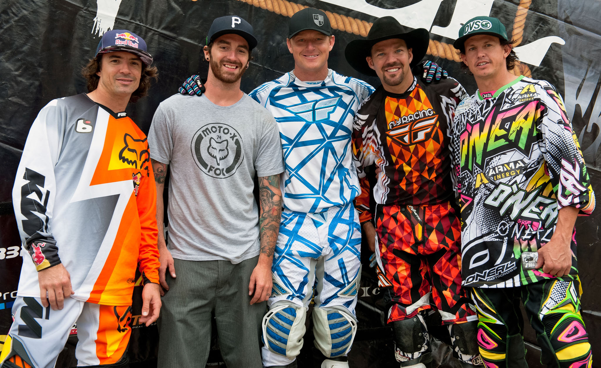 Ronnie Renner, Adam Jones, Cody Elkins, Kenny Bartram, Matt Buyten,