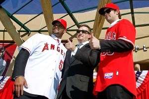Arte Moreno, Albert Pujols, C.J. Wilson