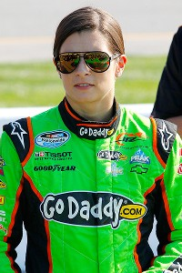 Danica Patrick, who received a text from Tony Eury Jr. on Friday, admitted she would miss him.