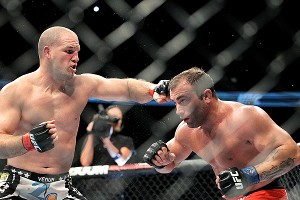 Matt Hamill and Roger Hollett