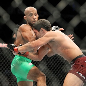 Joseph Benavidez and Demetrious Johnson