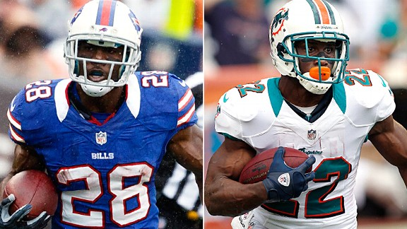 C.J. Spiller and Reggie Bush
