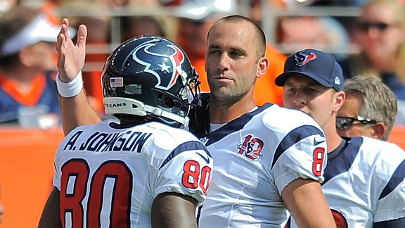 Matt Schaub and Andre Johnson