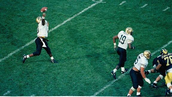 Kordell Stewart Hail Mary against Missouri in 1994