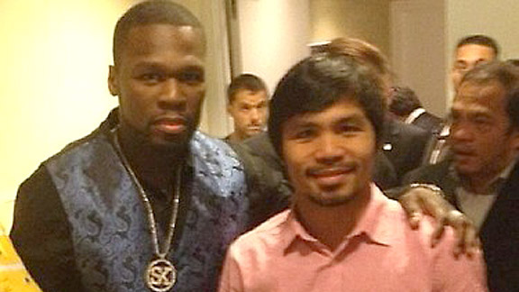 50 Cent, Manny Pacquiao