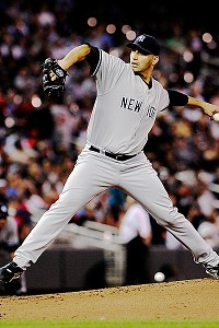 Andy Pettitte with the New York Yankees