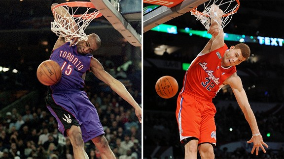 Vince Carter and Blake Griffin