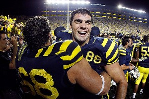 Michigan Wolverines celebrate