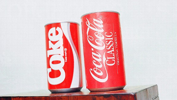 New Coke vs. Coca-Cola Classic