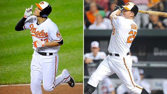 Manny Machado, Jim Thome