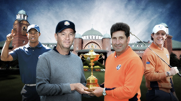 2012 Ryder Cup: Analysis of the Friday Morning Pairings