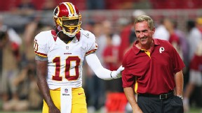 GM: All well between RG III and Shanahan
