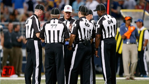 Replacement referees