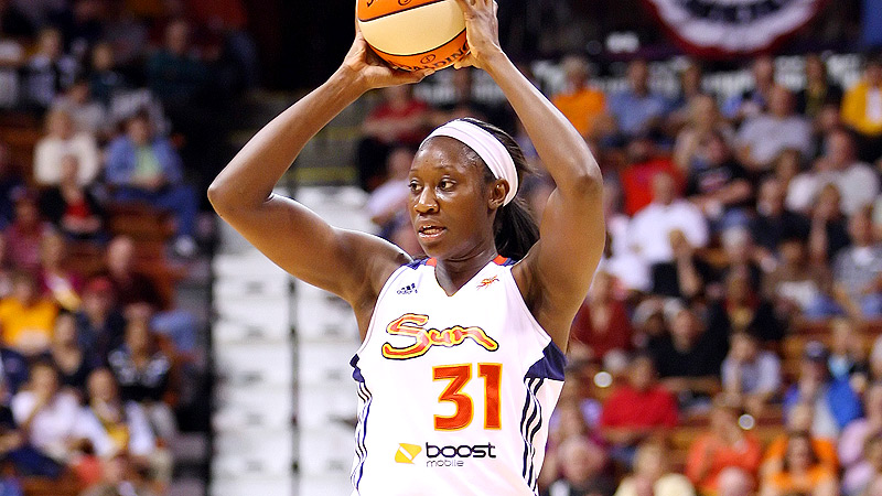 Tina Charles is excited to lead the Sun into Indiana for a rematch of the Eastern Conference finals.