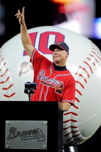 Braves honor Chipper in pregame ceremony