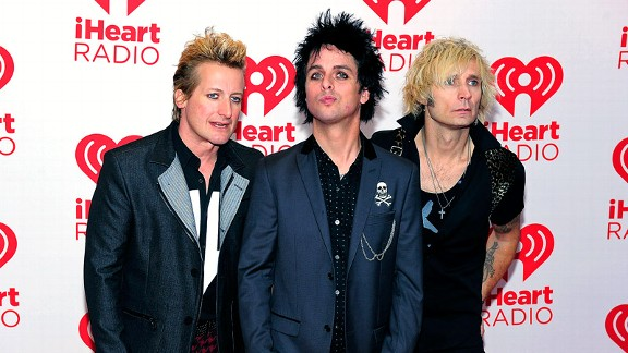 Tre Cool, Billie Joe Armstrong, Mike Dirnt