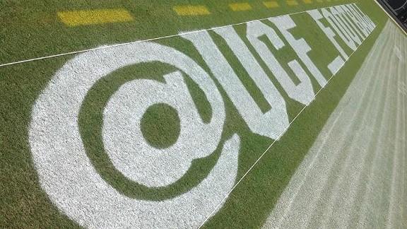 UCF Twitter field