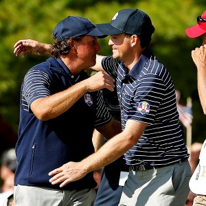 Phil Mickelson, Keegan Bradley