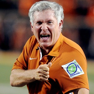 Texas' Mack Brown